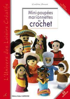 Mini-poupées Marionnettes au crochet - Cendrine Armani - Amazon.fr - Livres