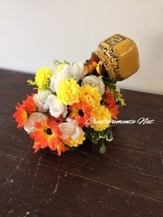 Flower's cup Cascata di fiori