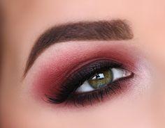 Red Rust smokey eye #eye #eyes #eyeshadow #dark #bold #smokey #dramatic