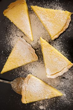 Lemon cake (tarte au citron)
