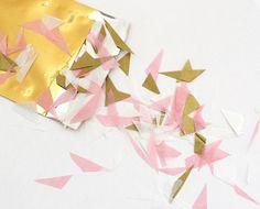 Konfetti aus Seidenpapier – geschnitten von feierschick auf DaWanda.com
