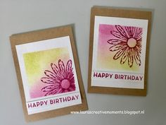 Daisy Delight, Stampin' Up! - a thank you card