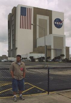 Marriott vacation planning tools make me think of the best vacation I ever planned - It was a complete surprise for my husband! #MarriottVacay - John at NASA - Toddling Around Chicagoland