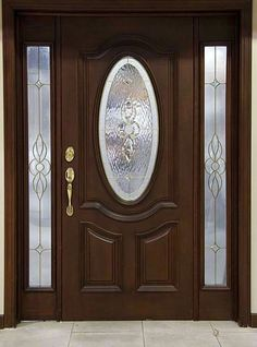 front door paint colors - Want a quick makeover? Paint your front door a different color. Here's some inspiration for you. Door Design, Wood Front Doors, Painted Doors, Entrance Doors, Best Front Doors, Doors Interior, Door Glass Design, Front Door Design