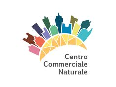 Logotipo per il Centro Commerciale Naturale della Pro Loco di Ponte nelle Alpi.