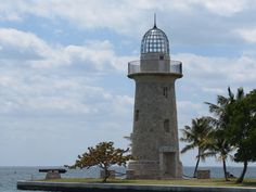 The Boca Chita Key Lighthouse. This faux lighthouse is part of the Biscayne National Park Florida Vacation, Vacation Trips, Vacations, Biscayne National Park, Florida Sunshine, Key Biscayne, Light House, Windmills, Abandoned Buildings