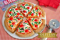 New York Pizza Supreme Decorated Sugar by OLIVIASSweetsCookies