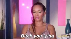 evelyn basketball wives - u lying Evelyn Basketball Wives, Ex Memes, Romantic Comedies On Netflix, Black People Memes, Evelyn Lozada, Ex Friends, Girl Bye, Love And Hip, Bad Girls Club