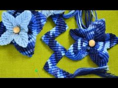 How To: Macrame flower / Makramee Blume / Макраме цветок