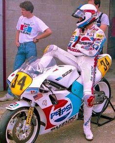 neontalk:80s Pepsi / Suzuki Fashion Kevin Schwantz