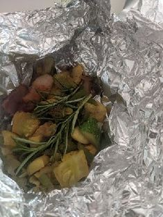 Veggie Pack, with bacon and rosemary, thrown onto the grill Open Fires, Best Coffee, Pork Chops, Bed And Breakfast, Cool Places To Visit, The Good Place, Bacon, Grilling, Good Food