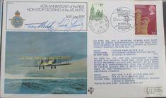 FDC Signed Alcock & Brown,60th Anniv Atlantic crossing,14 Jun 1979, 1020 of 1453 | eBay Newfoundland, Jun, Signs, Brown, Ebay, Shop Signs, Newfoundland Dogs, Brown Colors, Sign