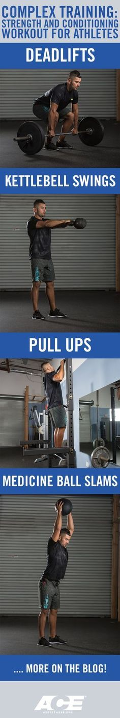 Complex Training: Strength and Conditioning Workout for Athletes