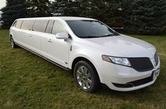 "Lincoln MKT Super Stretch •	8 passenger maximum capacity •	12' Super Stretch, 5 door •	5th door provides ease of entry/exit including an additional measure of safety •	White exterior with black leather interior •	Dual Rear A/C Heat, MX9 & OEM System  •	Privacy partition with built in 27"" LCD TV •	(3) 10 Inch LCD Monitors •	Ice, soda, water and snacks provided •	Console ice storage compartments and mini bar (glassware provided) •	Lincoln SYNC Communications, AM/FM stereo with CD/DVD/MP3…"