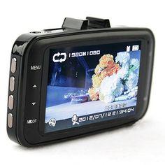 Car DVR GS8000Pro Box 170 Degree Full HD 1920x1080P Camera