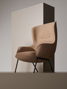 """In balance between classic and modern, Mame Bergère owes its elaborate simplicity to the observation of the roundness and unbroken lines of an edamame bean pod. """"Mame"""", which is precisely the Japanese for bean, is an armchair whose design aims to avoid any building elements in sight, integrating part of the cushioning system with its body shell. The comfort guaranteed by the upholstered foam is enhanced by a companion Ottoman and it combines with a feeling of solidity and neatness of its…"""