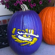 LSU Tiger pumpkin!