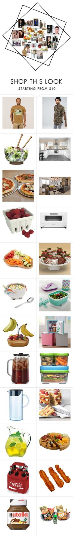 """""""Untitled #505"""" by mommacarter ❤ liked on Polyvore featuring interior, interiors, interior design, home, home decor, interior decorating, Sixth June, Sagaform, Sur La Table and Artland"""
