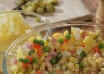 Vánoční či velikonoční bramborový salát