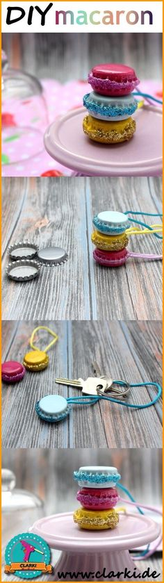 Make DIY Macaron pendants yourself. From crown caps, nail polish and Co. you can make sweet accessories in macaron design.de The post Make DIY Macaron pendants yourself appeared first on Woman Casual. Diy Jewelry Unique, Diy Jewelry To Sell, Diy Jewelry Making, Jewelry Crafts, Macaron Fimo, Macarons, Easy Crafts, Diy And Crafts, Recycled Crafts