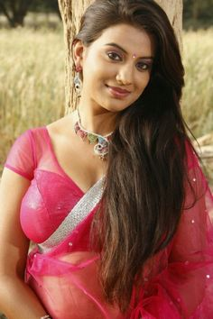 Actress Juhi Navel Show In Transparent Saree Photos
