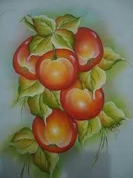 Resultado de imagem para pintura em tecido pimentas