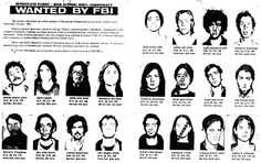 Weather Underground Organization aka Weathermen Member Wanted for Bombings. (Many became teachers. Spreading teaching their views to our youth. Bill Ayers, Ap Us History, By Any Means Necessary, Weather Underground, Book Projects, Sociology, Book Design, Revolution, Literature