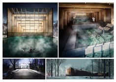 Primer Lugar  'Rebirth of the bath house' / Letonia