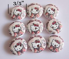 wooden buttons 15mm round 2 holes wood shirt by DiyCraftProject, €6.98