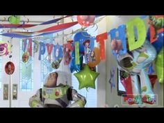 Video: Toy Story Birthday Party Ideas - easy & awesome favor ideas, party games, party food ideas & more