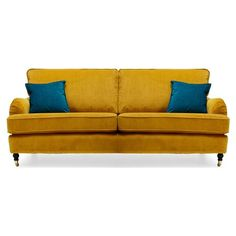 Richmond 2.5 Seater Sofa, Gold - offer on Achica