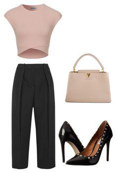 """outfit5"" by matildegiorgi14 on Polyvore featuring moda, Steve Madden, Joseph e Louis Vuitton"