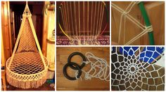 Start Out Your Very Own Sewing Company Suspended Chair Hammock In Macrame Technique. What I Would Gladly Sat In A Chair Suspended Hammock And Not Just In The Garden, You Can On The Balcony, On The Crochet Hammock, Diy Hammock, Hammock Chair, Swinging Chair, Hammock Ideas, Hammock Swing, Macrame Hanging Chair, Macrame Chairs, Diy Hanging