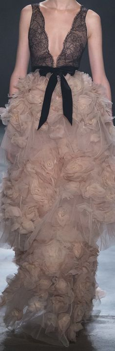 Marchesa Blush Swan feathery fairytale evening gown, quite the divine spectacle.  Enjoy RUSHWORLD boards, UNPREDICTABLE WOMEN HAUTE COUTURE, ART A QUIRKY SPOT TO FIND YOURSELF and EYE CANDY ARCHITECTURAL MASTERPIECES. Follow RUSHWORLD on Pinterest! New content daily, always something you'll love!