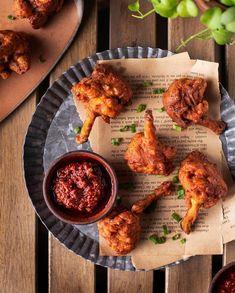 My Crush, Tandoori Chicken, Ethnic Recipes, Food, Eten, Meals, Diet
