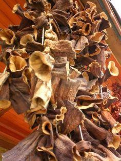 А вы знаете,что сушенные баклажаны по вкусу и внешнему виду напоминают сушеные грибы?.. Поэтому,попробуйте насушить на зиму...баклажаны.