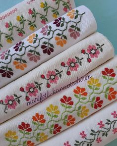 Cross Stitch Borders, Crochet, Floral, Style, Thread Crochet, Crochet House, Cross Stitch Alphabet, Face Towel, Cross Stitch Embroidery