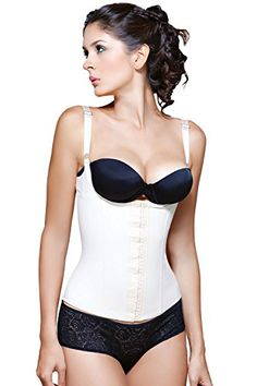 05f855eb33c Vedette Renee Underbust Corset 200 White 3X -- Check this awesome product  by going to · Waist Training ...