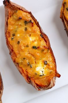 These Twice Baked Sweet Potatoes are easy to make and incredibly flavorful!