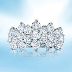 The queen of all diamond fashion rings.
