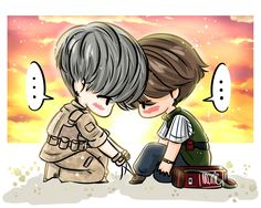 Fricking roleplaying Desendants of the Sun. So cute!!!!!
