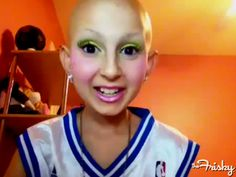 Makeup Tutorials By Cancer Patient Talia Joy Castellano, 12, Are Both Heartbreaking And Inspiring