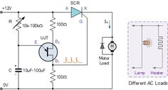 Unijunction Transistor Speed Control #UJT is a three-terminal semiconductor switching device.