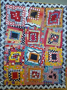 Freddie Moran Fractured Log..I love this quilt and have taken a class from Freddy, which was fabulous!