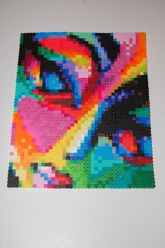 colors of emotion perler bead art made by me - amanda wasend aka lacy leather