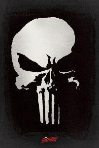 Marvel Daredevil - Punisher - plakat