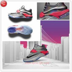 the latest 1bae6 c860c Pure Platinum Multicolor-Black Nike KD 7