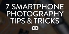 Do You Own An iPhone Or Smartphone? Next Time When You Take Photos, Use These Awesome Tricks. Since they're already in our pockets, most of us prefer to use our phones as cameras these days. Since no one wants to look like an amateur photographer, Lorenz Holder has come up with seven essential smartphone photography tips and tricks that will take your photography to the next level. ***Copied from attached website, edited for space***