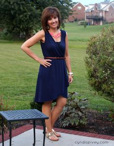 Love this dress! Fashion Over 40-What I Wore