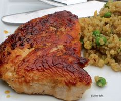 Daily Menu Options – Weight Watchers Points & Points Plus included. Turkey Cutlets and Quinoa Pilaf. Skinny Recipes, Ww Recipes, Dinner Recipes, Cooking Recipes, Healthy Recipes, Healthy Meals, Stay Healthy, Diabetic Recipes, Potato Recipes